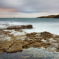 Duntulm At Sunset by Tony Higginson