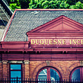 Duquesne Incline Of Pittsburgh by Lisa Russo
