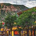 Durango Colorado Mountain Skyline Panorama by Gregory Ballos