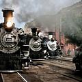 Durango - Silverton Railroad by Robert J Caputo