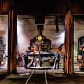 Durango Silverton Steam Train Roundhouse by Christopher Arndt