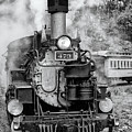 Durango Silverton Train Engine by Angela Moyer