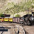 Durango Silverton Train by Lon Dittrick