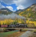 Durango-silverton Twin Bridges by Inge Johnsson