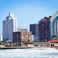 Durban Skyline From Bay Of Plenty by Jeremy Hayden