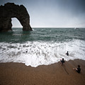 Durdle Door by Angel Ciesniarska
