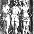 Durer Four Witches, 1497. For Licensing Requests Visit Granger.com by Granger
