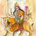 Durga by Iris Kovalio