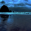 Dusk At Cannon Beach by David Patterson