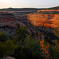 Dusk At Colorado National Monument by Larry Ricker