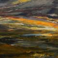 Dusk At The River by Julianne Felton