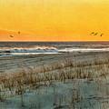 Dusk At The Shore by Cathy Kovarik
