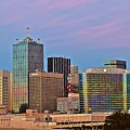 Dusk In Dallas by Skyline Photos of America