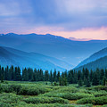 Dusk Over Guanella Pass by Twenty Two West Photography