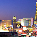 Dusk, The Strip, Las Vegas, Nevada, Usa by Panoramic Images
