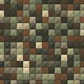 Dust Abstract Triangle Shape Pattern by Frank Ramspott