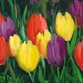 Dutch Tulips by Sally Seago