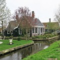 Dutch Village 2 by Sandra Bourret