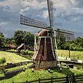 Dutch Windmill Near The Zuider Zee by Randall Nyhof