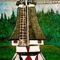 Dutch Windmill by Richard  Hubal