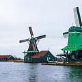 Dutch Windmills 1 by Marcin Rogozinski