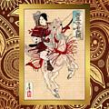 Duvet Yoshitoshi Warrior by Robert G Kernodle