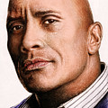 Dwayne Johnson Color by Andrew Read