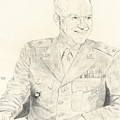 Dwight David Eisenhower  by Dennis Larson