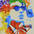 Dylan Watercolor by Dan Sproul