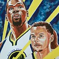 Dynamic Duo - Durant And Curry by Joel Tesch