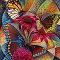Dynamic Papalotl Series 1 - Diptych by Ricardo Chavez-Mendez