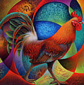 Dynamic Rooster - 3d by Ricardo Chavez-Mendez