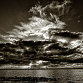 Dynamic Sunset - Sepia by Christopher Holmes