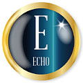 E For Echo by Bigalbaloo Stock