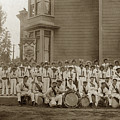 Eagle Band's Drum Corps. Native Sons Of The Golden West  Circa 1908 by California Views Archives Mr Pat Hathaway Archives