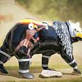 Eagle Dancer Bear by Cynthia Woods