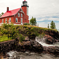 Eagle Harbor Lighthouse by Phyllis Taylor