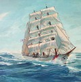 Sailing Eagle by Perry's Fine Art