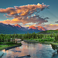 Eagle River Sunset  by Ed Boudreau