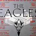 Eagles Concert Ticket 1980 by David Lee Thompson