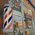 Eaker's Barbershop by Steve Hartman