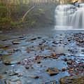 Early Autumn At Pixley Falls by Karen Jorstad