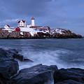 Early Evening, Cape Neddick Light, Cape Neddick, Maine  -21087 by John Bald