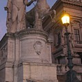 Early Evening In Rome by John Malone
