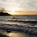 Early Lakeside - Waves Sand And Sunshine by Georgia Mizuleva