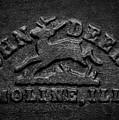 Early John Deere Emblem by Jeff Phillippi