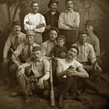Early Monterey Baseball Team Circa 1895 by California Views Archives Mr Pat Hathaway Archives