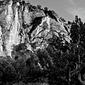 Early Morining Zion B-w by Christopher Holmes