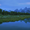 Early Morning Along The Snake River by Sharon Seaward