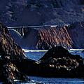 Early Morning At Bixby Creek Bridge by Russ Harris